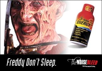 Freddy Krueger to Promote 5-Hour Energy